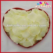 Ivory Silk Rose Petals ForWedding Decoration