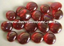 Garden Red Glass Beads