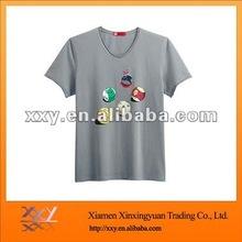 Silk Screen Printing Men Fashion 2012 O-neck T Shirt Free Samples