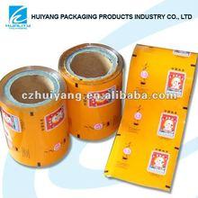Hot film rolls packing for tea sachets