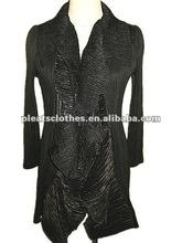 2012 fashion European 2012 new fashion career lace pleat blouse