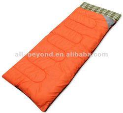 Hollow fiber filling outdoor envelope sleeping bag