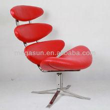 poul volther corona silla de cuero