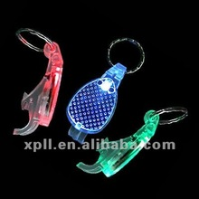 LED Light Up Beer Bottle Opener, Made of PC Materials, 3 Flashing Modes, Good for Promotion