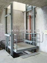 Wall mounted folding table lift/hydraulic chain lift