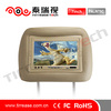 7 inch car pillow tft lcd monitor