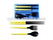 2012 Promotional chopsticks spoon fork set 120028a