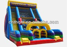 large inflatable bouncer rental backyard slide