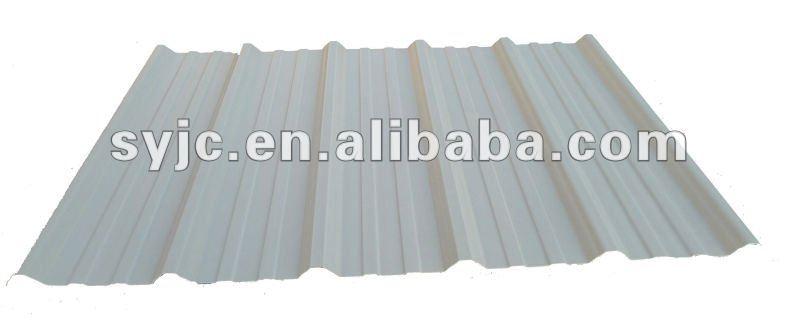 Revetement toiture plastique