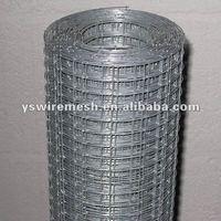 rust resistant galvanized welded wire mesh