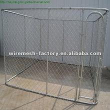 outdoor panel dog kennel/ dog run panels /assembled dog run