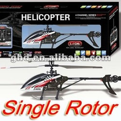 "OEM UJ303 / FX059 Single Rotor Fixed Pitch Medium 4 CH 17"" RC Helicopter w/ Built in Gyroscope 2.4 Ghz"