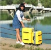 fashion PC/ABS travel trolley luggage case and bag draw-bar box