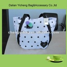 Fashion Multifunctional Polyester Material Diaper Bag