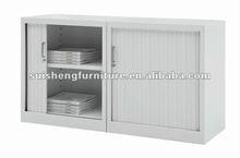 2012 Modern new design steel one-layers 2 rolling doors office filfing cabinet