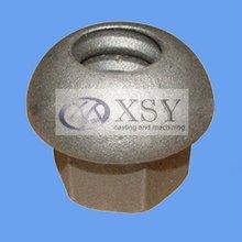 sand blasting gray iron casting nuts