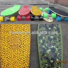 "22"" Penny complete Original Plastic Banana long Board Mini Crusier Pink penny style skateboard"