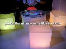 Epoxy Resin puma design 40cm fancy plastic cube chair