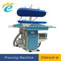 servicio de lavandería automática prensa de vapor de hierro de la máquina