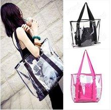 New Fashion Women Transparent Clear Beach Casual Shoulder bag