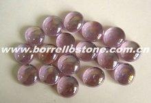 Decorative Purple Glass Beads