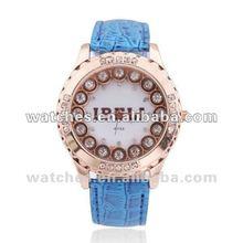 Woman Fashion Imitation Diamond Shinning Quartz Watch