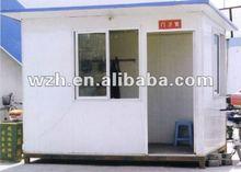 prefab security guard room at public places/scenic spots/garden/school