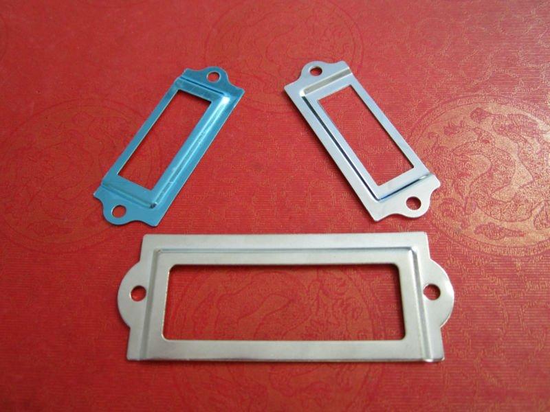 Porta etichette metallo - Toga