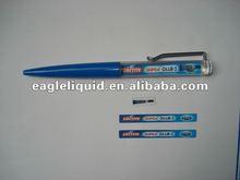 liquid custom pvc printing inside shenzhen plastic ball pen