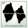 FDA silicone rubber square gasket industrial, ISO9001-2008 TS16949