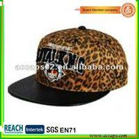 Panther print snapback hat SN-1108