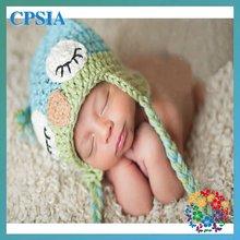 Cute animal baby owl hat hot sale baby hat crochet pattern