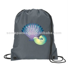 2012 Customized polyester sport drawstring bags