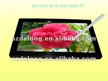 2012 Newest Design!! 18.5Inch Panel Mount Touch Screen PC