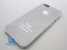Mobile Phone Super Thin Transparent Clear Mat Back Cover case for iPhone 5