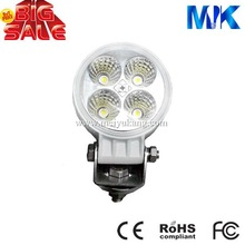 hot led hid work light 12w tractor worklight waterproof