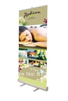 Mobile Portable roll up stand Poster Banner Screen Stand for Event Promotion