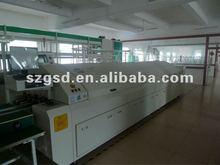 GSD-L10 smt assembly large reflow oven,professional smt manufacturer