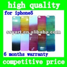 Water bead Design Translucent silicone protector Case for iPhone 5 back cover housings Multicolor