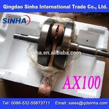 Best quality ax100 motorcycle crankshaft