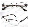 la mitad de la moda de metal marco de gafas