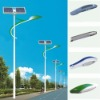 CE RoHS FC approved IP65 solar led street light