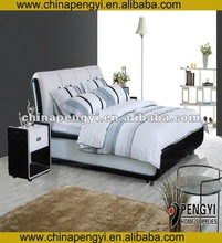 Luxury bed import furniture from china
