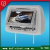 super low price 7 inch HD pioneer touch screen car dvd player with gps with USB/SD 32 bit games