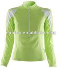 professional customized ladies bike wear with full zipper