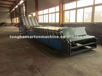 TB semi-automatic laminator carton machine
