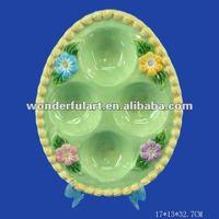 kitchenware set ceramic egg plate
