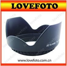 Professional 58mm lens hood For Canon EOS 1100D 1000D 600D 550D 500D 60D Canon T3i 18 to 55mm lens