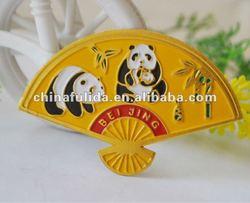 metal enamel fridge magnet, metal enamel fridge sticker, embossed soft enamel fridge magnet