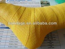 fiberglass orthopedic splint or polyester orthopedic medical bandage and colored bandage